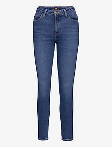 Scarlett High - dżinsy skinny fit - mid de niro