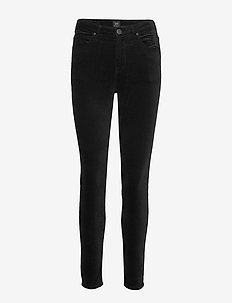 SCARLETT HIGH - slim fit-byxor - black