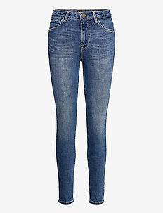 SCARLETT HIGH - skinny jeans - mid worn martha