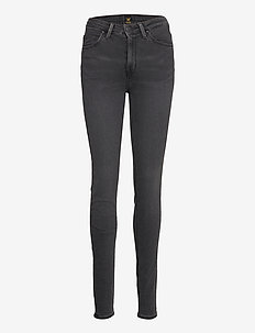 Scarlett High - dżinsy skinny fit - black bucklin