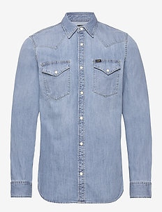 LEE WESTERN SHIRT - chemises basiques - frost blue