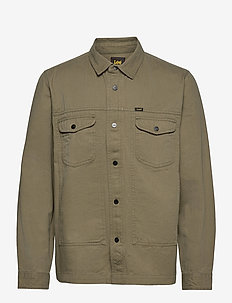MILITARY WORKER SHIR - yläosat - olive green