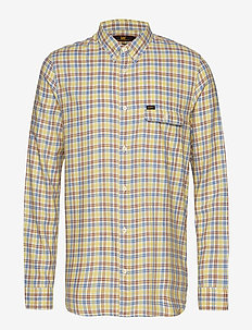 BUTTON DOWN VARIATIO - YELLOW SIGN