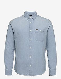 LEE ONE POCKET SHIRT - denim shirts - summer blue