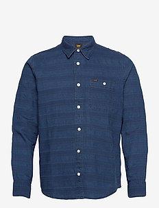 LEE ONE POCKET SHIRT - casual hemden - washed blue