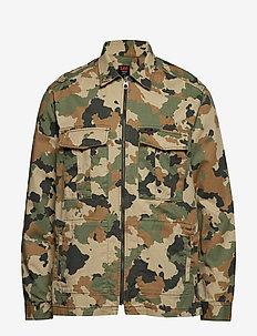 FATIQUE OVERSHIRT - kurtki-wiosenne - camouflage