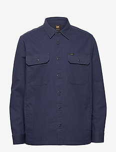 2 PKT OVERSHIRT - basic shirts - navy