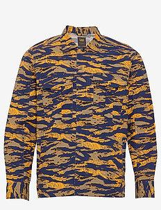 SEASONAL OVERSHIRT - overshirts - washed blue