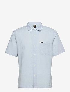 SS RESORT SHIRT - basic shirts - skyway blue