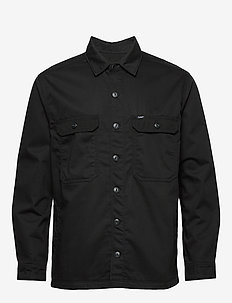 WORKWEAR OVERSHIRT - BLACK