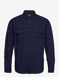 WORKER SHIRT - denim shirts - indigo