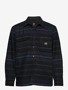 BOX POCKET OVERSHIRT - overdeler - sky captain