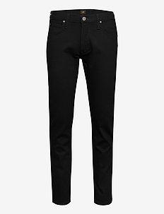 DAREN ZIP FLY - slim jeans - clean black