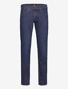 DAREN ZIP FLY - regular jeans - dark bluegrass