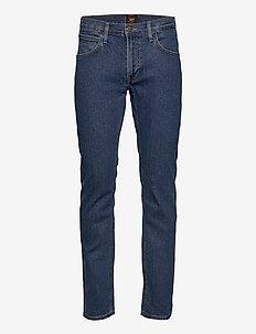 Daren Zip Fly - regular jeans - mid stone