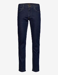 Daren Zip Fly - regular jeans - dark stonewash