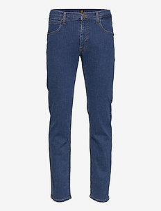 DAREN ZIP FLY - regular jeans - mid stone wash