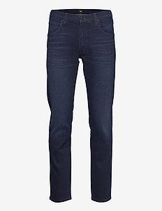DAREN ZIP FLY - regular jeans - clean dk ray