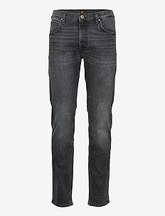 DAREN ZIP FLY - slim jeans - dk worn magnet