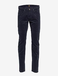 DAREN ZIP FLY - spodnie na co dzień - dark marine