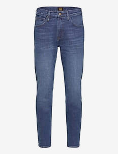 AUSTIN - tapered jeans - mid bluegrass