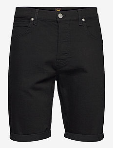 5 POCKET SHORT - denim shorts - clean black