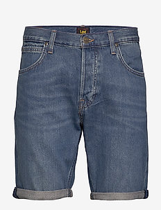 5 POCKET SHORT - farkkushortsit - soft mid aliso