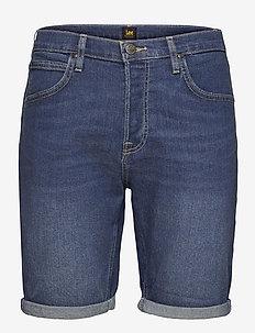 5 POCKET SHORT - denim shorts - hawaii dark