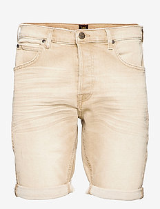 5 POCKET SHORT - denim shorts - faded beige