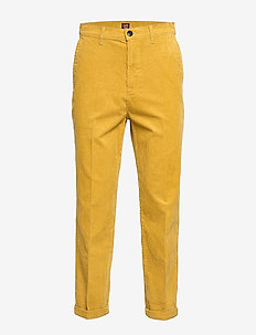 RELAXED CHINO - chinos - nugget gold