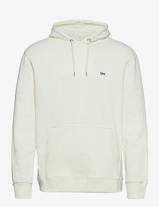 PLAIN HOODIE - basic sweatshirts - ecru