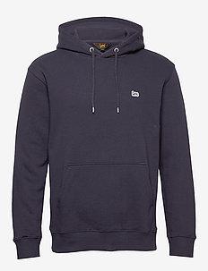 PLAIN HOODIE - basic sweatshirts - midnight navy