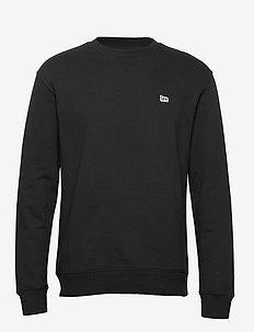 PLAIN CREW SWS - basic sweatshirts - black