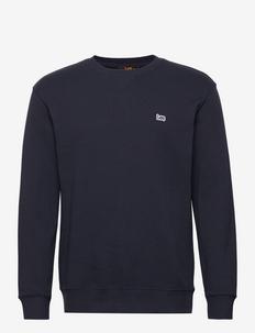 PLAIN CREW SWS - basic sweatshirts - midnight navy