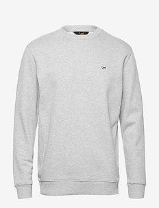 PLAIN CREW SWS - basic sweatshirts - grey mele