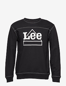 Graphic sweatshirt - BLACK