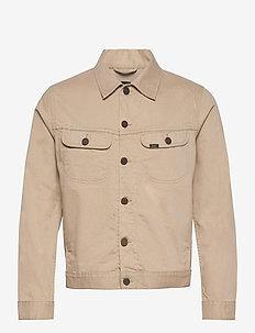 SERVICE RIDER JKT - denim jackets - service sand