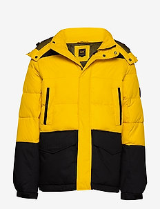 MID PUFFER JACKET - LEMON ZEST