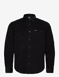 LEE BUTTON DOWN - basic shirts - black