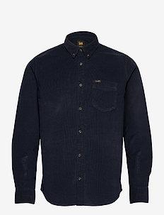 LEE BUTTON DOWN - denim shirts - sky captain