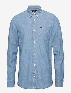 LEE BUTTON DOWN - FROST BLUE