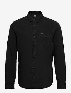 LEE BUTTON DOWN - denim shirts - black