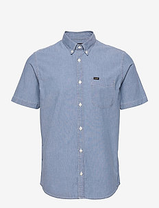 LEE BUTTON DOWN SS - basic shirts - piscine