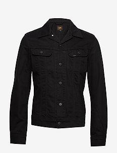 SLIM RIDER - jeansjacken - black rinse