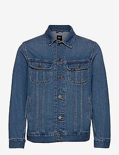 RIDER JACKET - denim jackets - washed camden