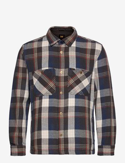 WESTERN OVERSHIRT - casual shirts - insiginia blue
