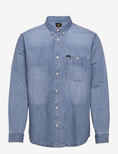 RIVETED SHIRT - basic skjortor - frost blue