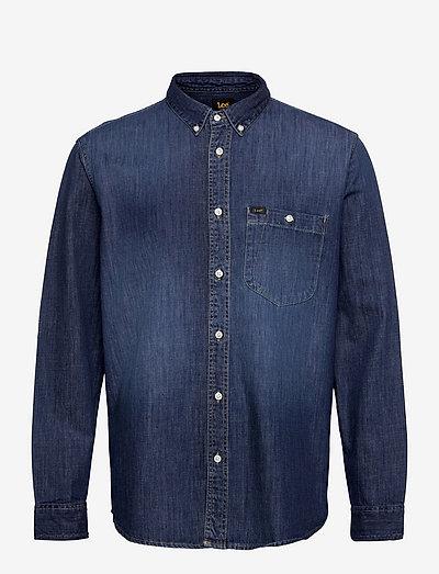RIVETED SHIRT - casual shirts - insiginia blue