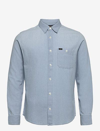 LEE ONE POCKET SHIRT - basic skjortor - summer blue