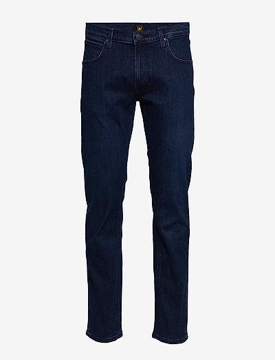 Daren Zip Fly - regular jeans - dark blue wood